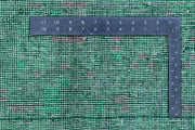 Forestgreen Overdyed 6' 4 x 9' 10 - No. 37509 - ALRUG Rug Store