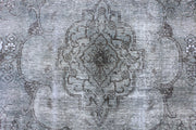Grey Overdyed 6' 6 x 9' 4 - No. 37510 - ALRUG Rug Store