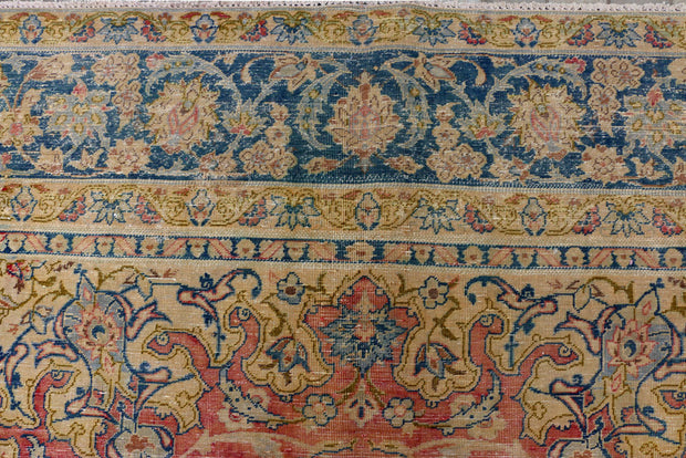 Indian Red Vintage 10' 11 x 15' 1 - No. 37532 - Alrug Rug Store