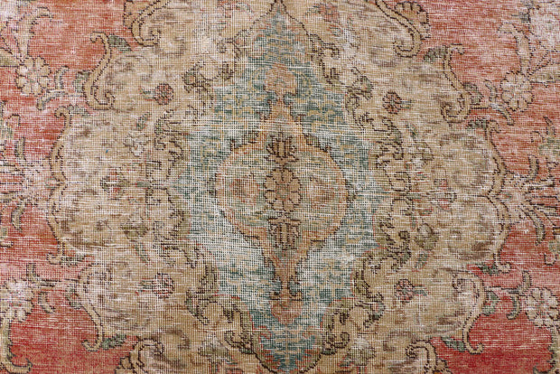 Indian Red Vintage 9' 8 x 12' 6 - No. 37606 - Alrug Rug Store