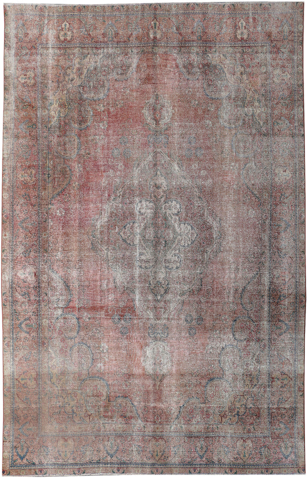Indian Red Vintage 9' 6 x 12' 4 - No. 37608 - Alrug Rug Store