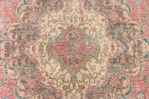 Indian Red Overdyed 9' 7 x 12' 10 - No. 37611 - Alrug Rug Store