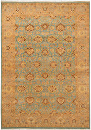 Dark Sea Green Oushak 6' 1 x 8' 8 - No. 37697 - ALRUG Rug Store