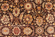 Saddle Brown Ziegler 6' x 9' - No. 37698 - ALRUG Rug Store