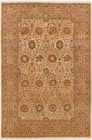 Navajo White Sultanabad 6' x 9' 1 - No. 37704 - ALRUG Rug Store
