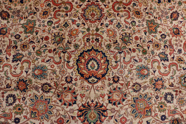 Blanched Almond Mahal 9' 1 x 12' 4 - No. 37783 - ALRUG Rug Store