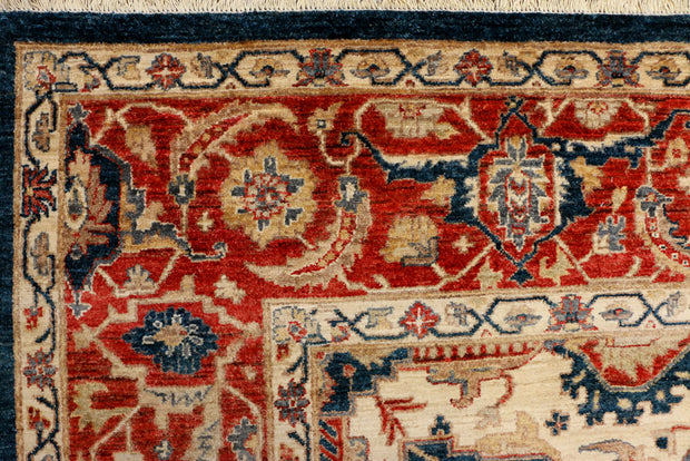 Midnight Blue Serapi 8' 1 x 10' 6 - No. 37824 - ALRUG Rug Store