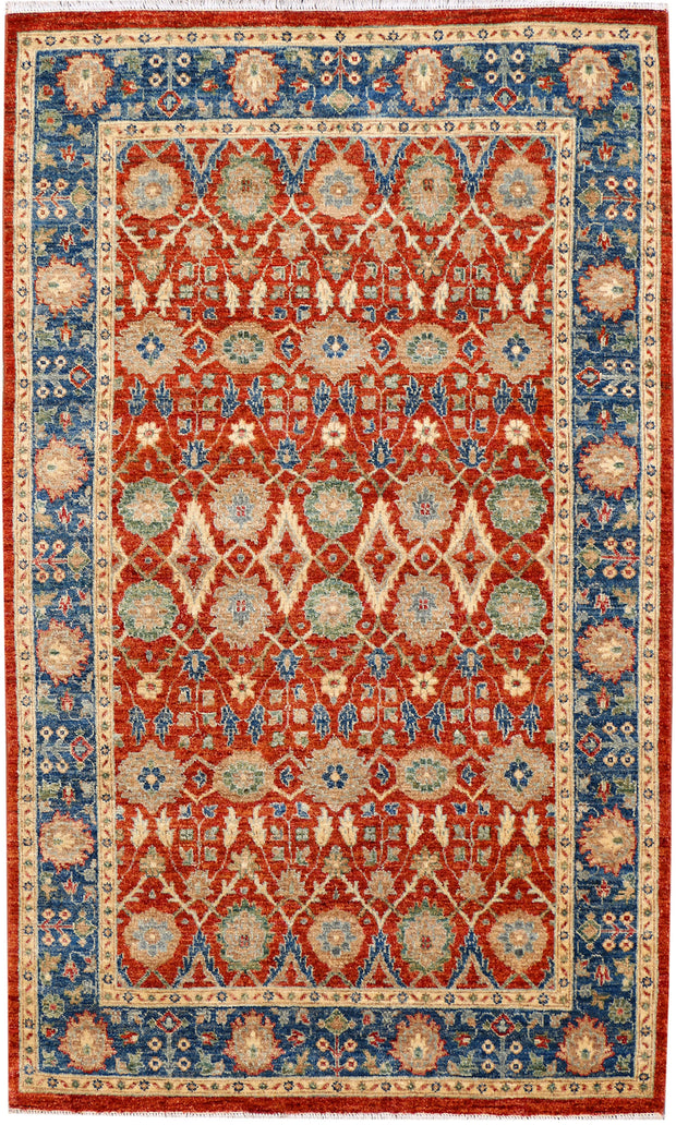 Orange Red Serapi 4' 2 x 6' 10 - No. 37876 - ALRUG Rug Store