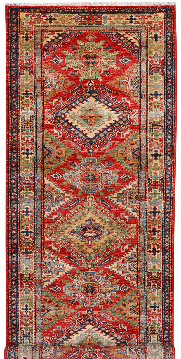 Red Kazak 2' 10 x 7' 8 - No. 37977 - ALRUG Rug Store
