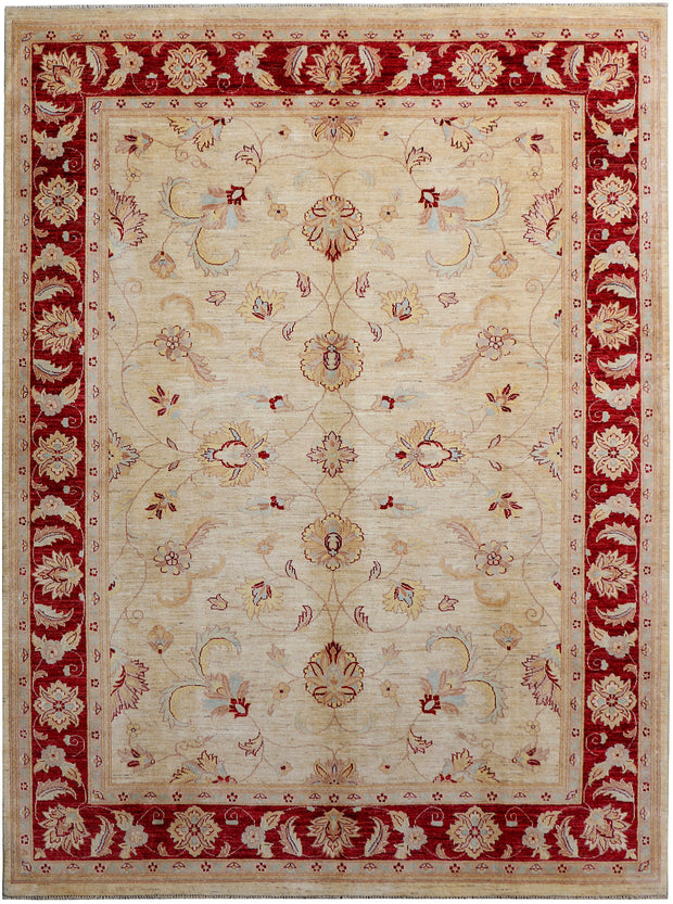 Blanched Almond Ziegler 8' x 11' 1 - No. 38207 - ALRUG Rug Store