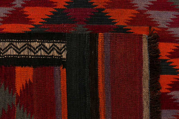 Multi Colored Kilim 3' 9 x 10' 6 - No. 39594 - ALRUG Rug Store