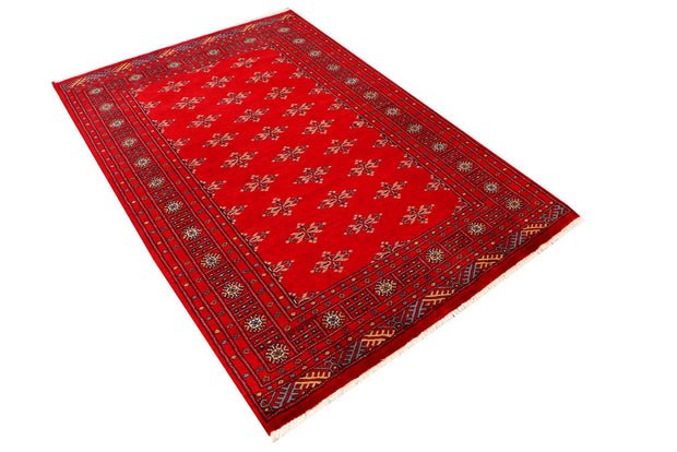 Red Butterfly 4' 1 x 6' 2 - No. 41070 - ALRUG Rug Store