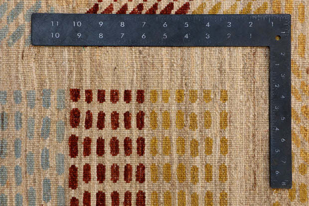 Multi Colored Gabbeh 8' x 9' 7 - No. 41093 - ALRUG Rug Store