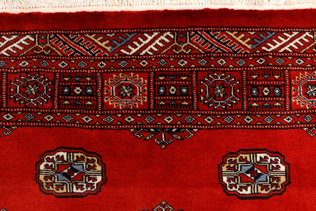 Dark Red Bokhara 4' x 6' 2 - No. 41164 - ALRUG Rug Store
