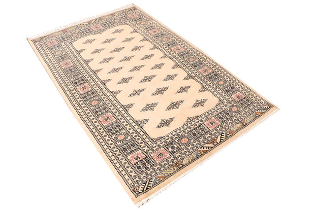Wheat Butterfly 4' x 6' 2 - No. 41196 - Alrug Rug Store
