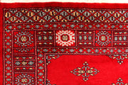 Red Butterfly 4' 2 x 6' 1 - No. 41213 - Alrug Rug Store