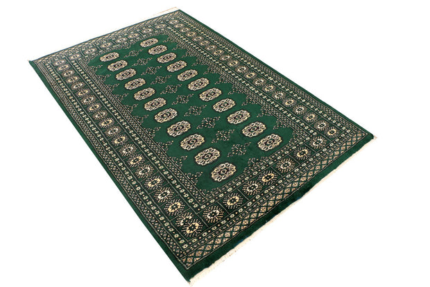 Sea Green Bokhara 4' x 6' - No. 41233 - Alrug Rug Store
