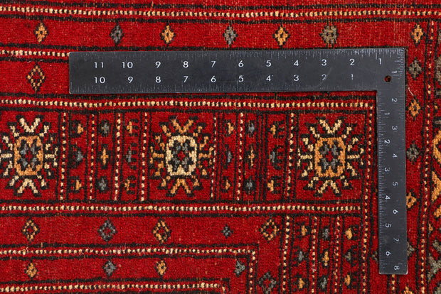 Dark Red Butterfly 4' 1 x 5' 9 - No. 41242 - ALRUG Rug Store