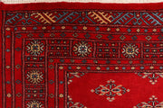 Dark Red Butterfly 4' 2 x 6' 1 - No. 41246 - ALRUG Rug Store