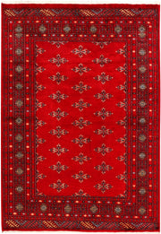 Dark Red Butterfly 4' 1 x 5' 10 - No. 41252 - ALRUG Rug Store