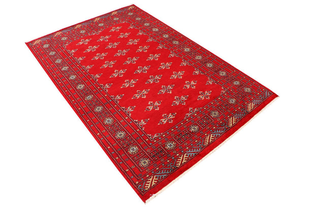 Dark Red Butterfly 4' 2 x 6' 3 - No. 41262 - ALRUG Rug Store