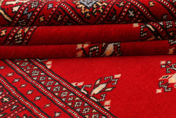 Dark Red Butterfly 4' 2 x 6' - No. 41268 - ALRUG Rug Store