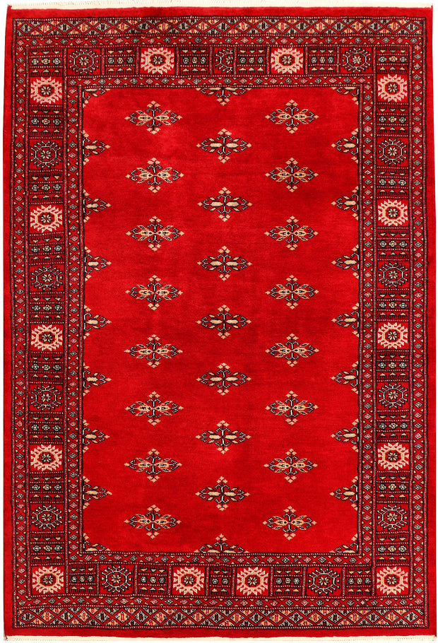 Dark Red Butterfly 4' 1 x 5' 11 - No. 41273 - ALRUG Rug Store