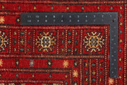 Red Butterfly 4' 1 x 5' 11 - No. 41286 - ALRUG Rug Store