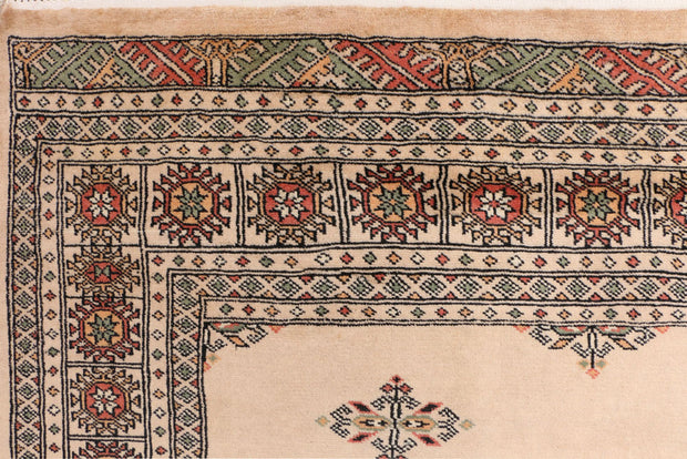 Tan Butterfly 4' 6 x 6' 3 - No. 41368 - ALRUG Rug Store