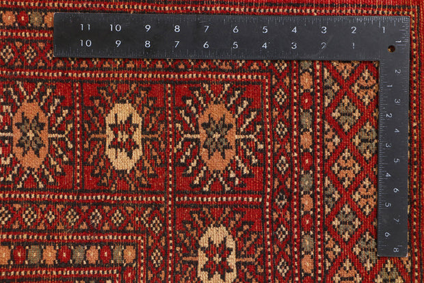 Dark Red Bokhara 3' 1 x 6' 1 - No. 41430 - ALRUG Rug Store