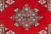 Dark Red Caucasian 3' 4 x 5' 10 - No. 41455 - ALRUG Rug Store