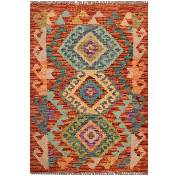 Vegetable Kilim 2' x 2' 7 (ft) - No. AL29402 - ALRUG Rug Store