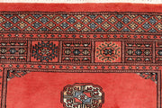 Indian Red Bokhara 3' x 4' 3 - No. 44054 - ALRUG Rug Store