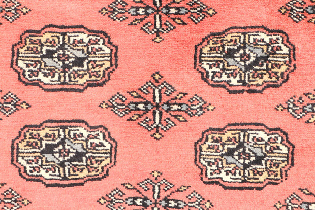 Indian Red Bokhara 3' 1 x 4' 11 - No. 44097 - ALRUG Rug Store