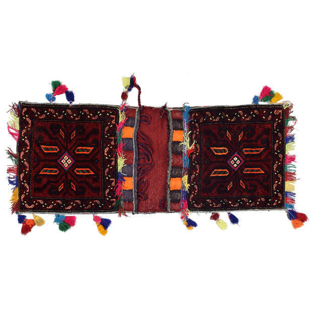 Saddle Bag 1' 5 x 3' 9 (ft) - No. AL63198 - ALRUG Rug Store