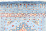Light Steel Blue Jaldar 3' 2 x 5' 4 - No. 44253 - ALRUG Rug Store