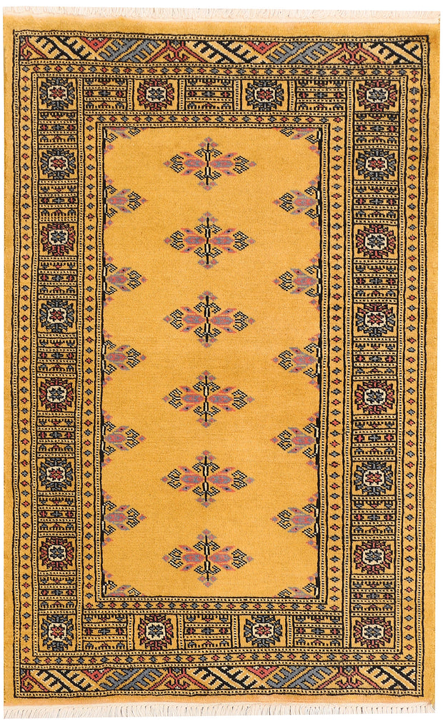 Gold Butterfly 2' 6 x 3' 11 - No. 44486 - Alrug Rug Store