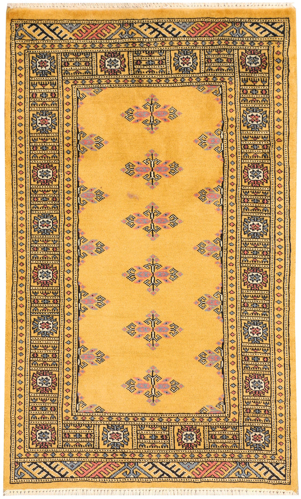 Gold Butterfly 2' 6 x 4' 2 - No. 44543 - Alrug Rug Store