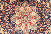 Multi Colored Hunting 5' 1 x 8' 4 - No. 44798 - ALRUG Rug Store