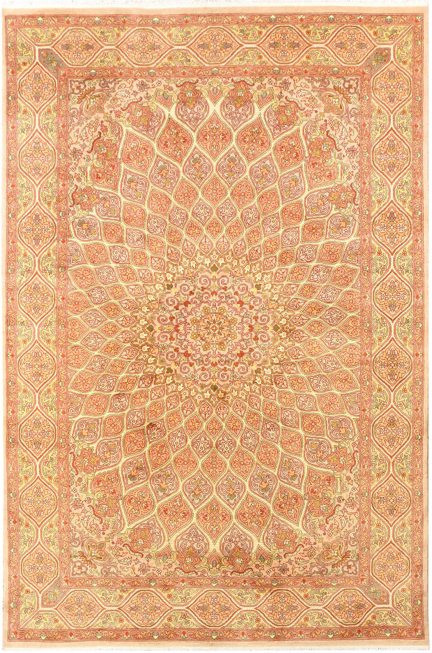 Multi Colored Gombud 6' x 9' 1 - No. 44811 - ALRUG Rug Store