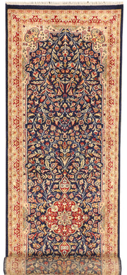 Midnight Blue Mahal 2' 7 x 9' 8 - No. 44854 - ALRUG Rug Store