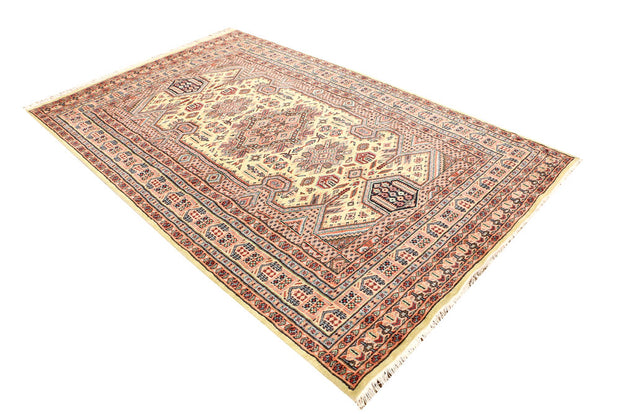Light Goldenrod Yellow Kafkazi 5' 3 x 8' 4 - No. 44911 - ALRUG Rug Store