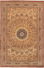 Multi Colored Gombud 4' 7 x 7' 1 - No. 44935 - ALRUG Rug Store