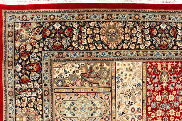 Multi Colored Isfahan 4' 7 x 7' 5 - No. 44937 - ALRUG Rug Store