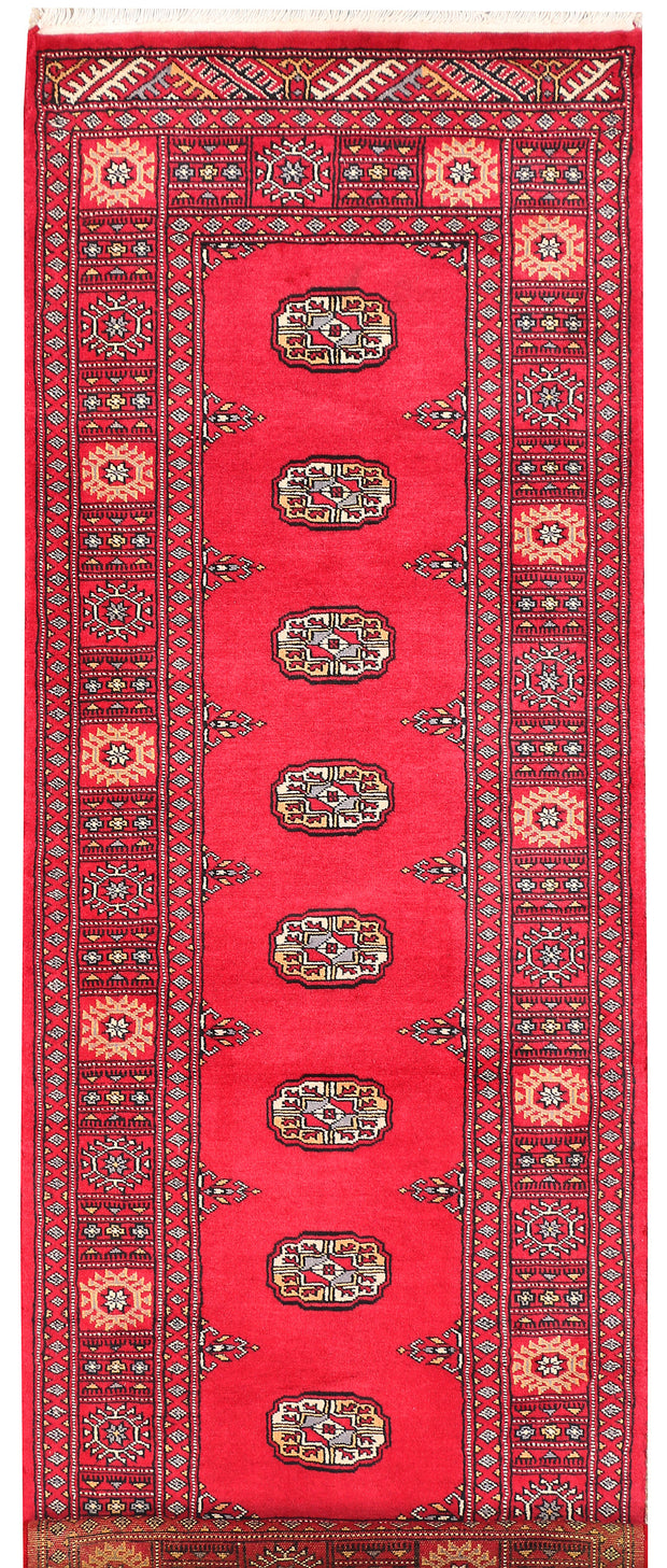 Crimson Bokhara 2' 6 x 6' 9 - No. 45121