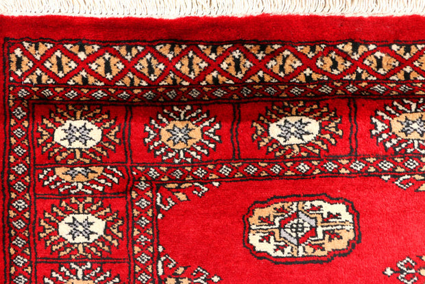 Dark Red Bokhara 2' 7 x 6' 11 - No. 45135 - ALRUG Rug Store
