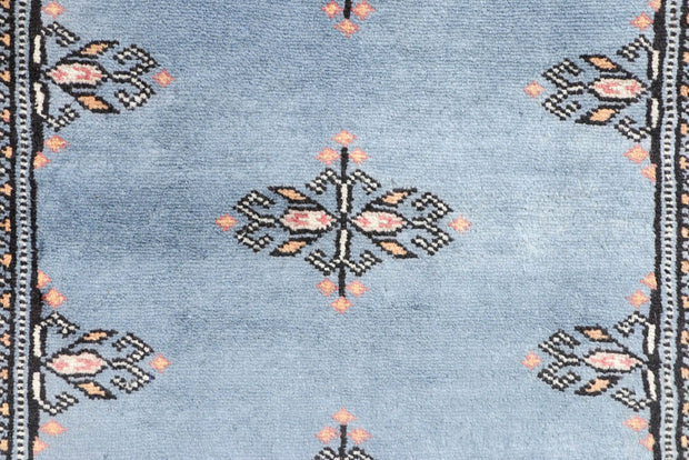 Light Slate Grey Butterfly 2' 7 x 6' 2 - No. 45139 - ALRUG Rug Store