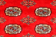 Dark Red Bokhara 2' 7 x 7' 10 - No. 45174 - ALRUG Rug Store