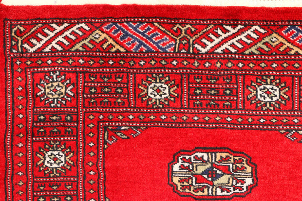 Dark Red Bokhara 2' 6 x 8' 11 - No. 45396 - ALRUG Rug Store