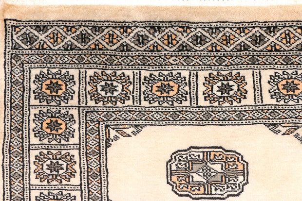 Antique White Bokhara 2' 6 x 10' 2 - No. 45459 - ALRUG Rug Store